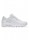 "Buty Nike Air Max 90 Leather ""All White"" - 302519-113"