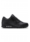 "Buty Nike Air Max 90 Leather ""Black"" - 302519-001"