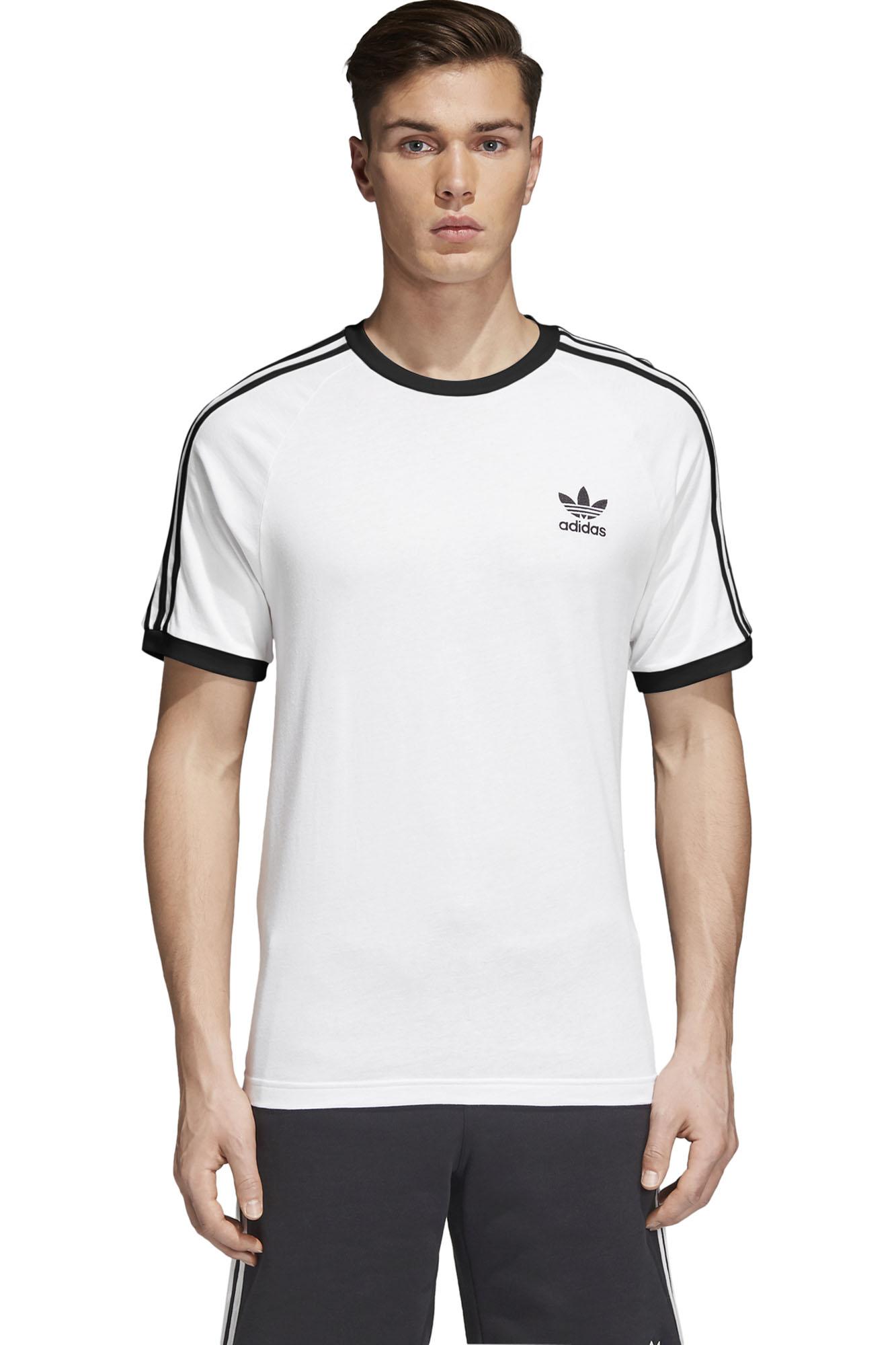 zaoszczędź do 80% buty do separacji ekskluzywny asortyment Koszulka adidas Originals 3-Stripes - CW1203 / T-shirt ...
