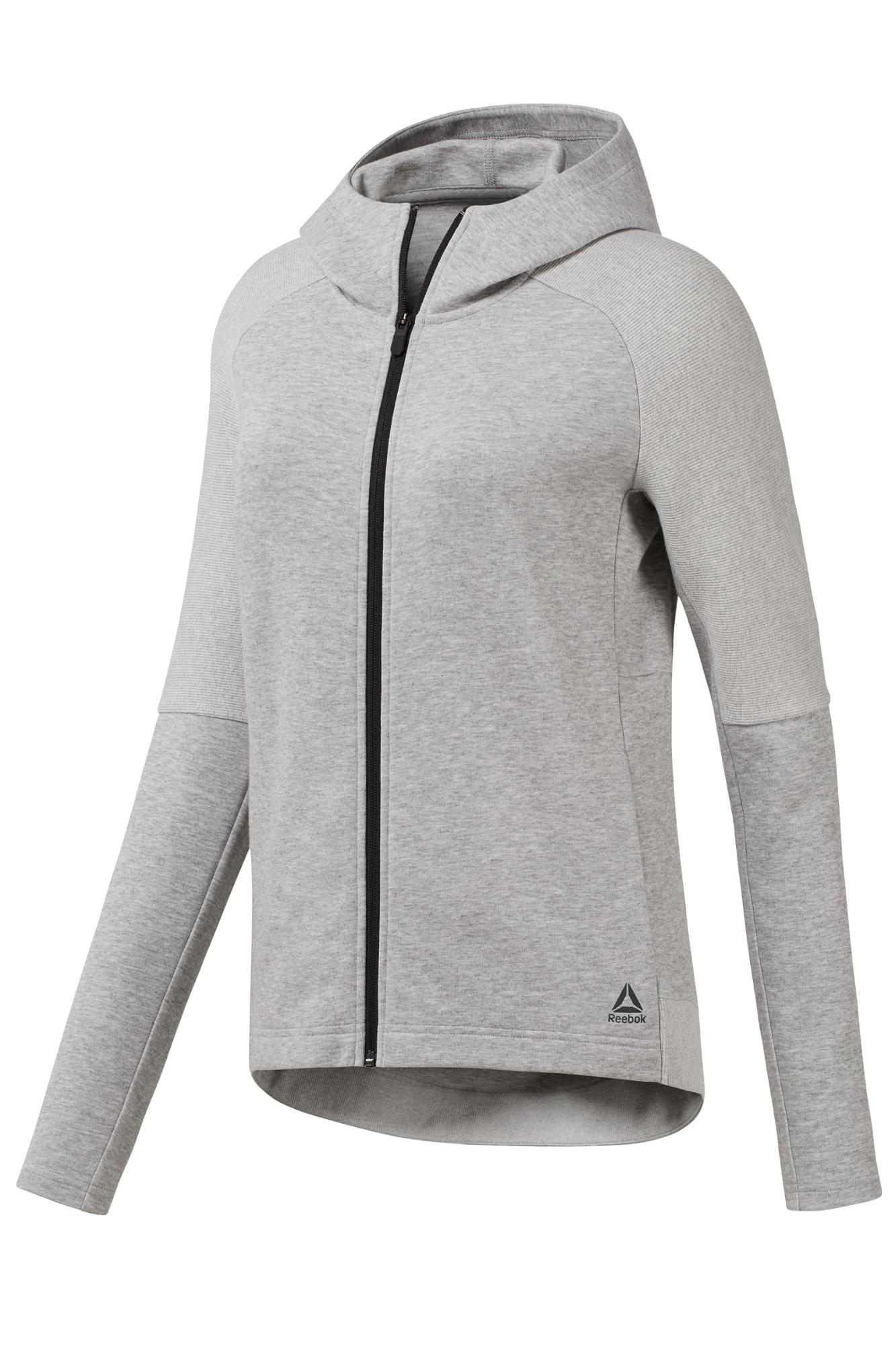 6fe3032dd Bluza Reebok Quik Cotton Full Zip - CY2358 / Bluzy/Polary / Odzież ...