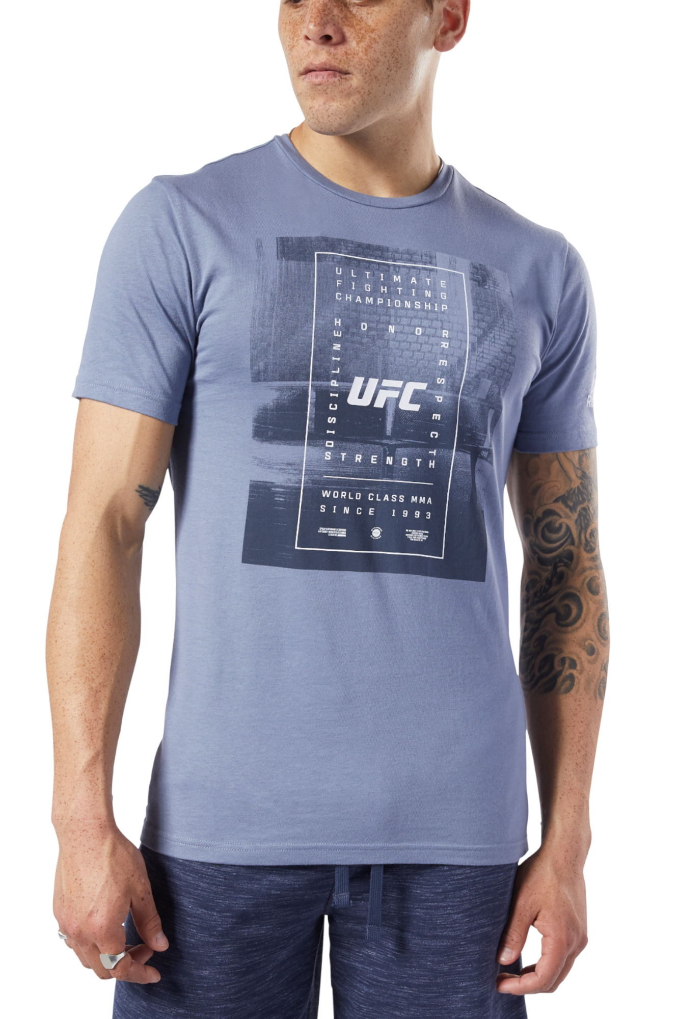 Koszulka Reebok UFC Fan Gear Text EC1272 T shirt